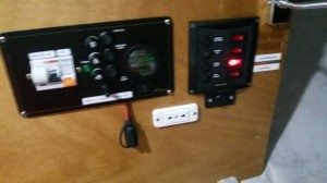Tormentina - Pannello elettrico interno alla cabina - miglioramenti