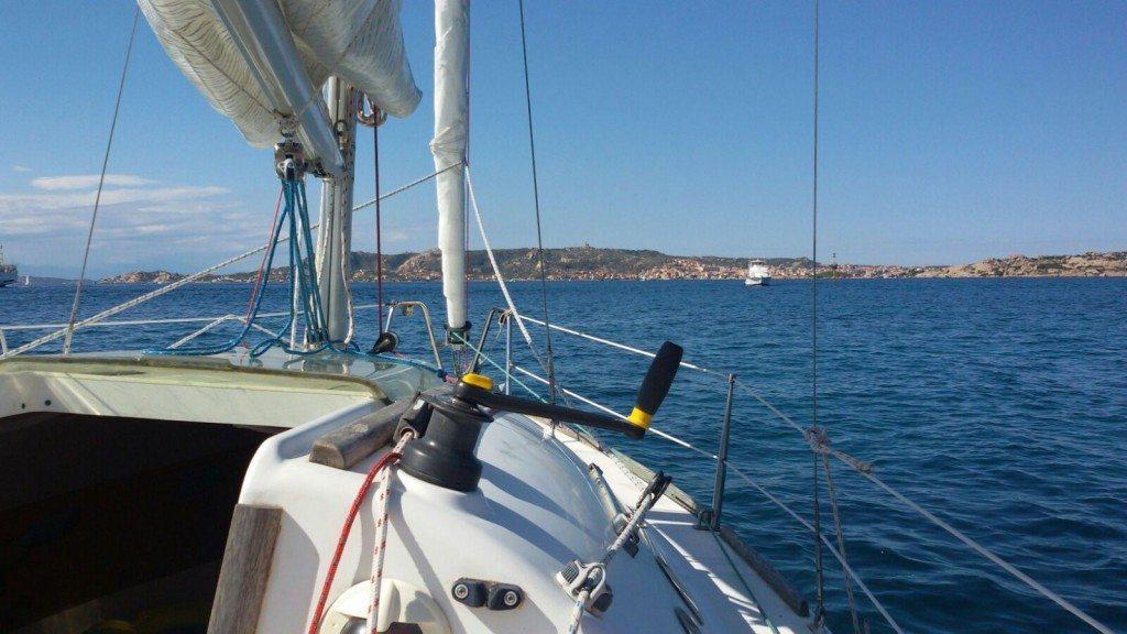 Arsura 2 - in navigazione davanti alle coste Sarde